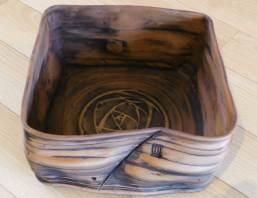 Large ceramic table centre piece.