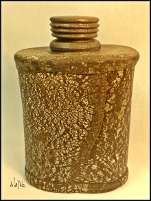 Ceramic bottle. cone 6.