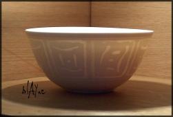 Porcelain wash out tech, cone 6.