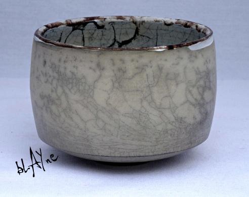 Ceramic tea bowl. Terra Sigillata