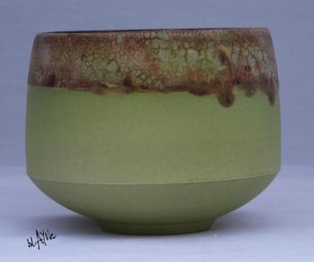 Ceramic Tea bowl, outside Terra Sigillata