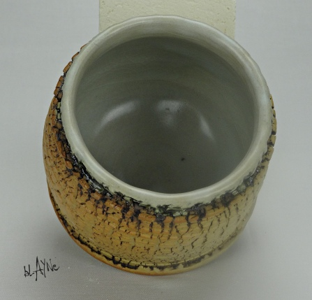 Ceramic Tea bowl, inside.