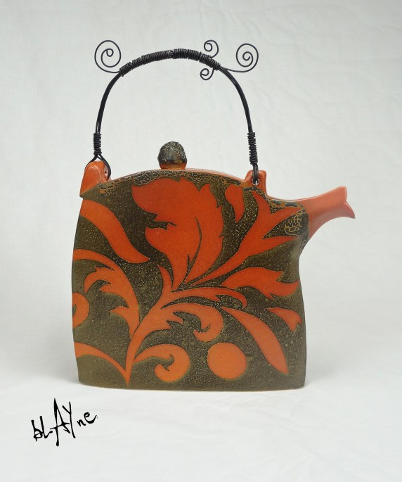 Ceramic tea pot shapes