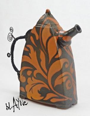 Ceramic Tea Pot shape
