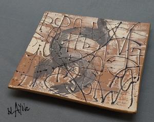 ceramic platter.