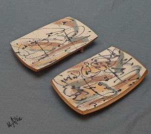 small ceramic platters
